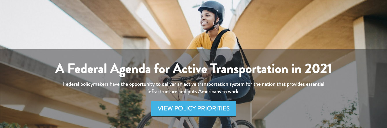 Federal Agenda for Active Transportation banner