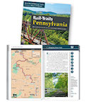 RTC's Rail-Trails: Pennsylvania Guidebook 2020 edition