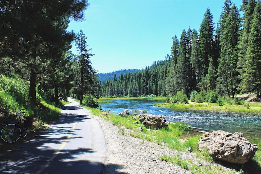 California's Tahoe Trailways Bike Path | Photo by TrailLink user sherstone