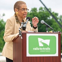 Rail-Trail Champion Eleanor Holmes Norton on Linking the Nation by Trail