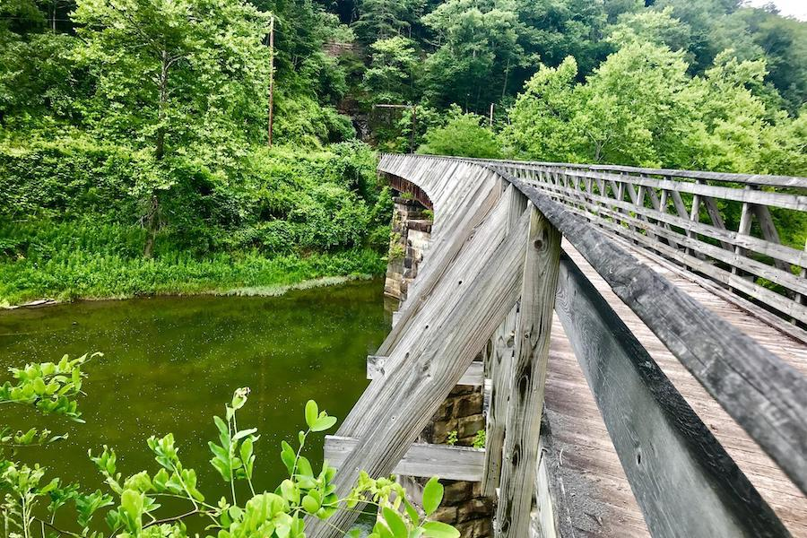 West Virginia's Greenbrier River Trail | Photo by TrailLink user Lisa Jarnigan