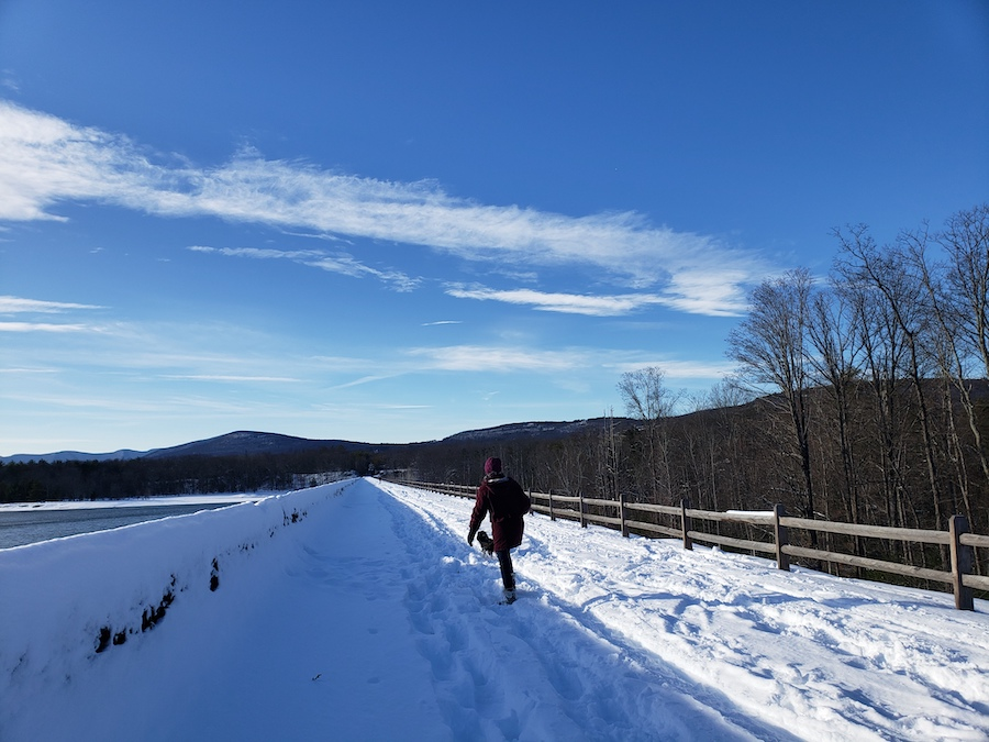 Ashokan Rail Trail | Photo by Maxanne Resnick, courtesy Woodstock Land Conservancy