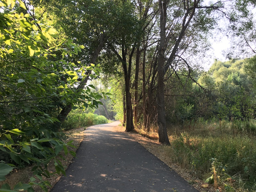 Portneuf Greenway through Sacagawea Park | Courtesy Portneuf Greenway Foundation