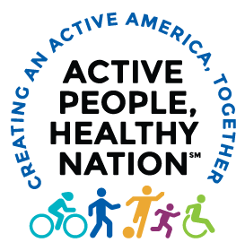 Active People, Healthy Nation: Creating an Active America, Together logo