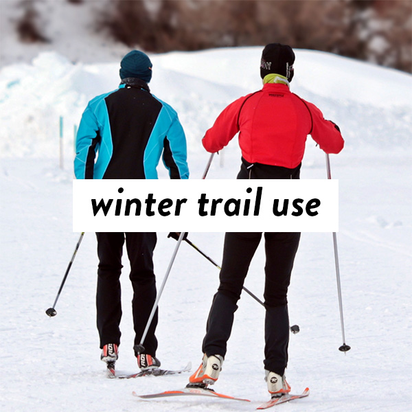 Winter trail use resources