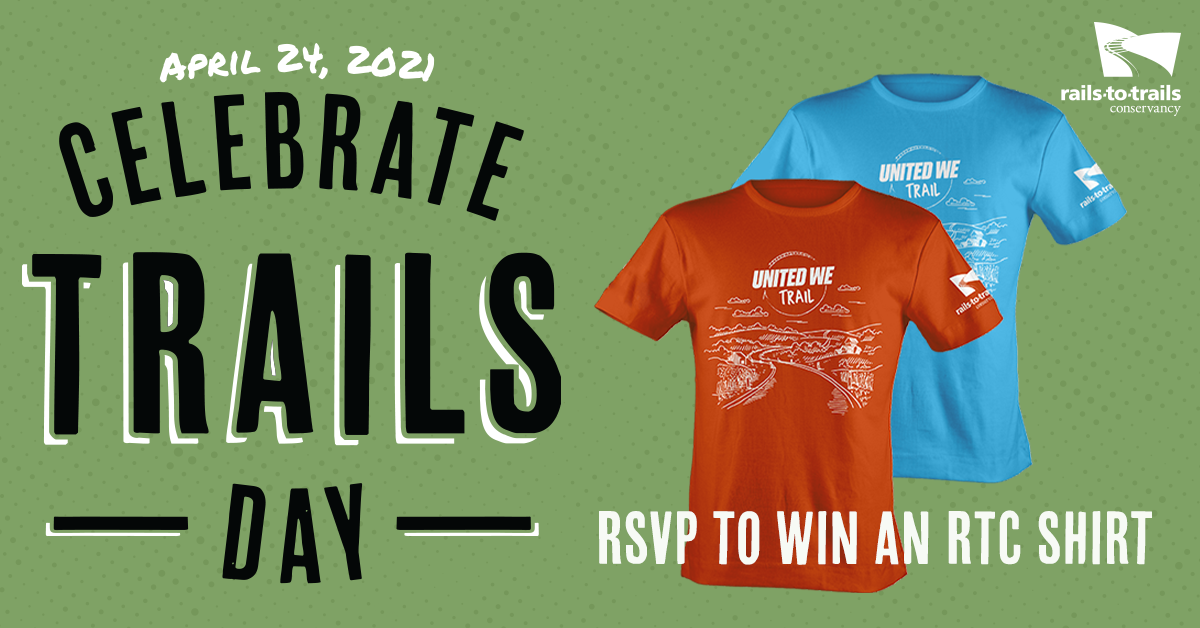 Celebrate Trails Day: RSVP to win an RTC shirt
