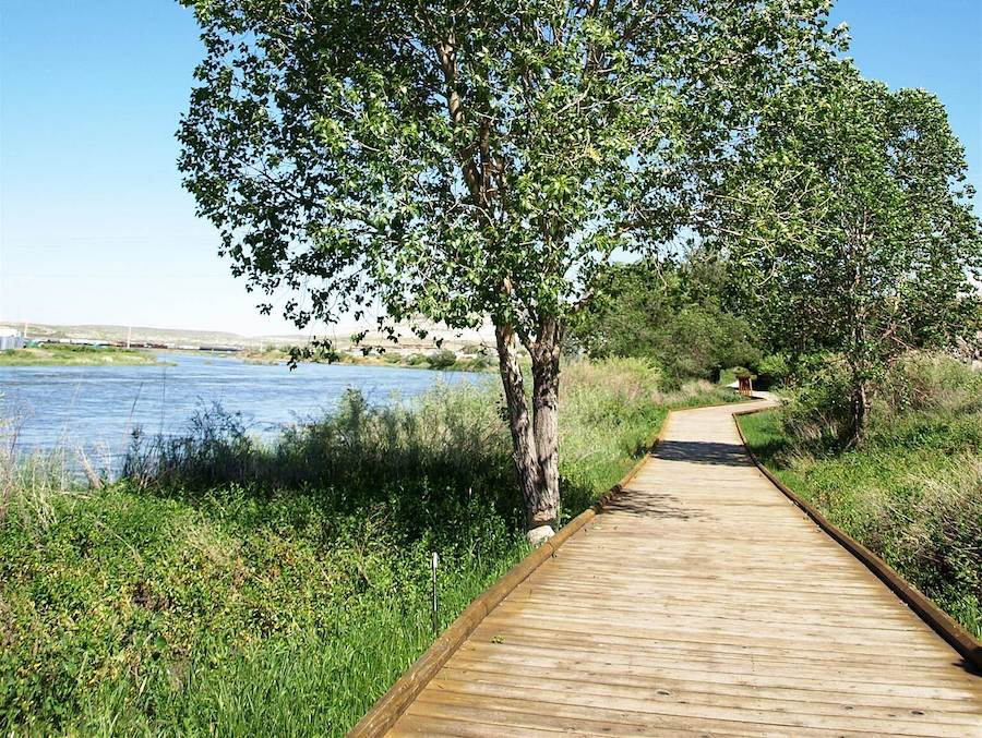 Wyoming's Green River Greenbelt Pathway | Photo by TrailLink user braney_tl