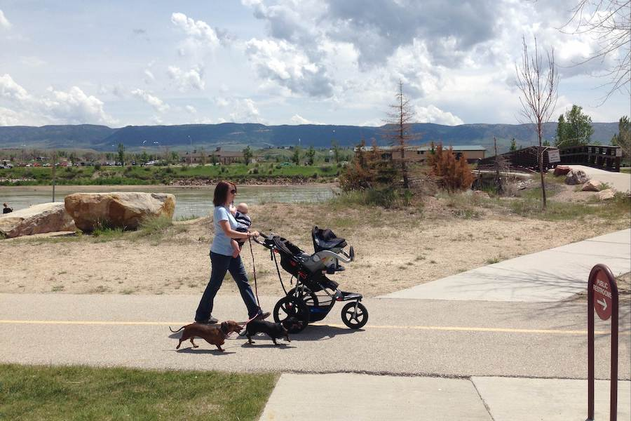 Wyoming's Platte River Trail near the Tate Pumphouse | Courtesy of Platte River Trails