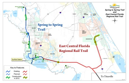 Florida Rails To Trails Map.Rails To Trails Map Www Picturesso Com