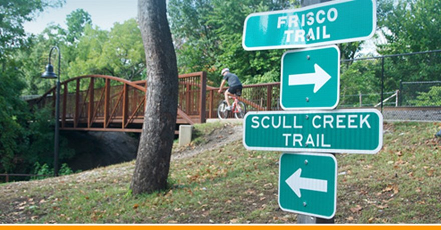 The Frisco Trail – Fayetteville, Arkansas