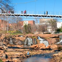 South Carolina's Greenville Health System Swamp Rabbit Trail