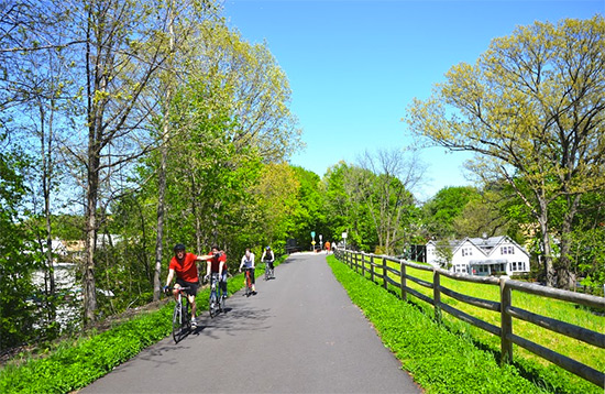 New York's Hudson Valley Trail Network on