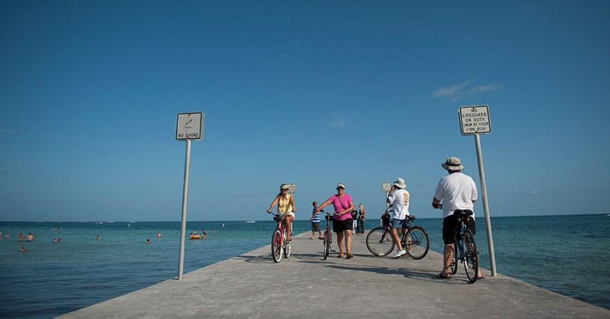 Florida Keys Overseas Heritage Bike Trail Map Connecting the Keys: Florida Keys Overseas Heritage Trail