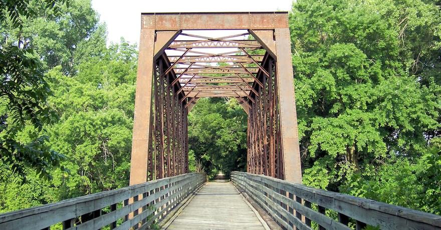 Greening Of Southwest Bike Path >> Iowa S Wabash Trace Nature Trail