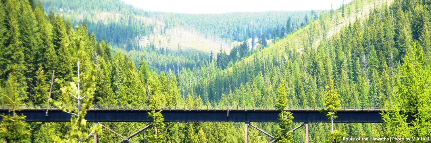 Rails To Trails Idaho Map.Idaho S Trail Of The Coeur D Alenes And Route Of The Hiawatha