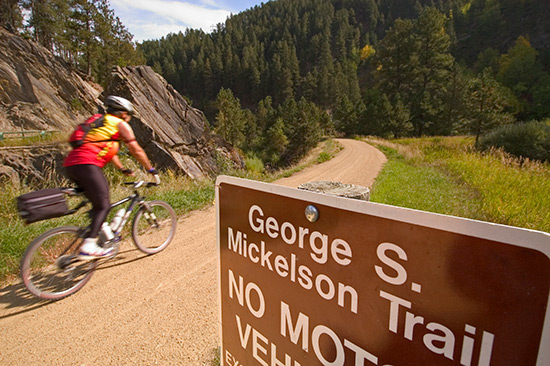 South Dakota's George S  Mickelson Trail