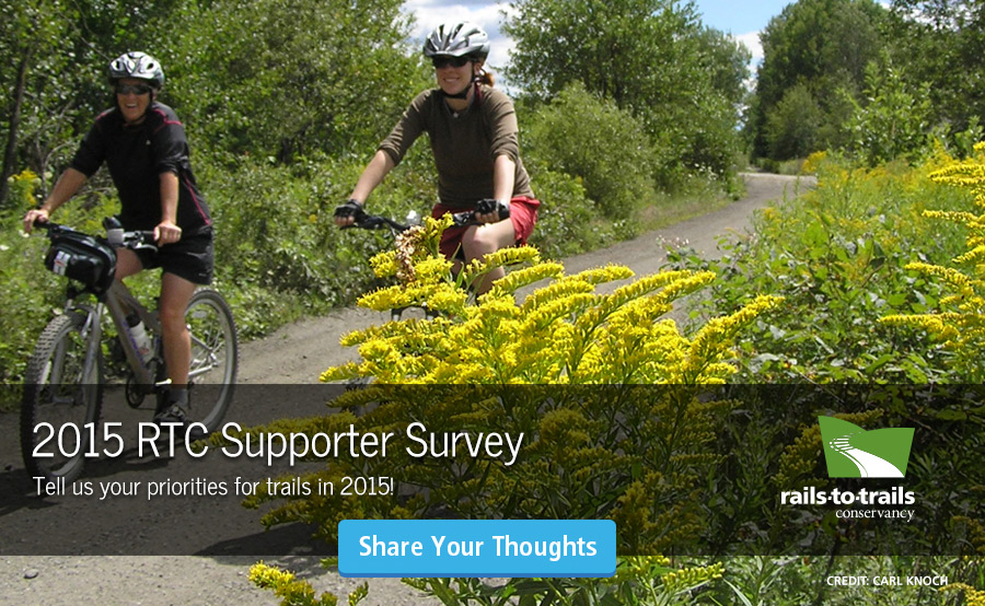 Take Our Trail Supporter Survey