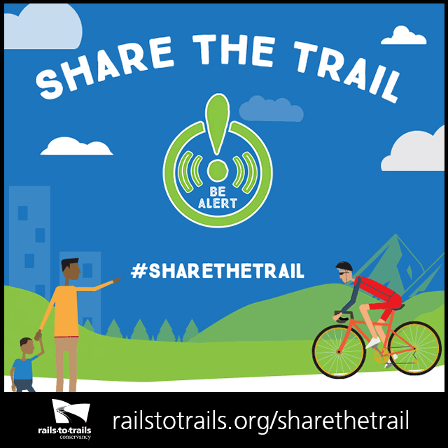 Be Alert to Share the Trail