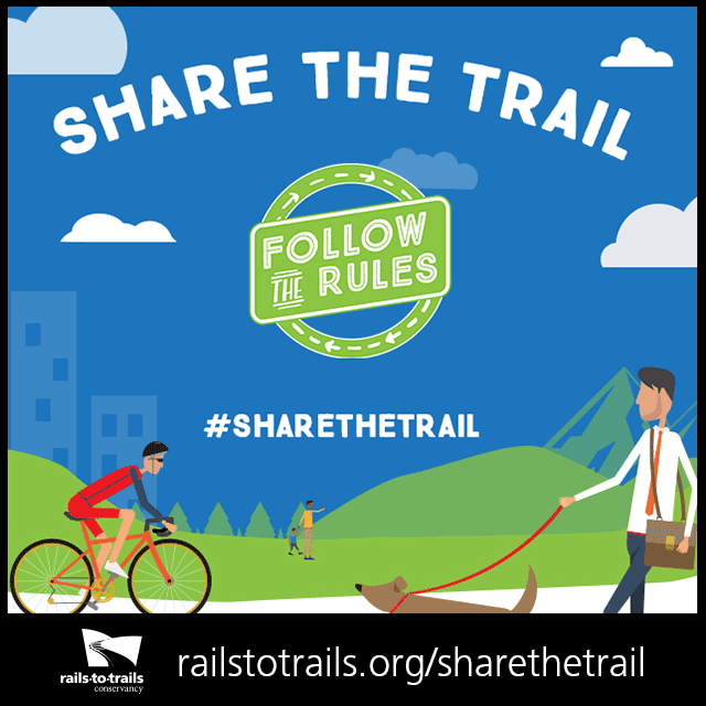 Know and Follow the Rules to Share the Trail