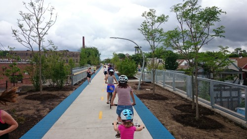 The 606 rail trail