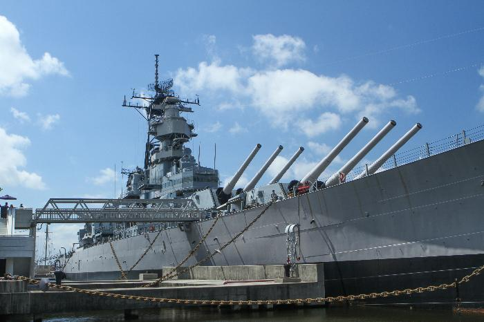 One Of The Largest And Fastest Battleships Ever Constructed Uss Wisconsin Was Launched In 1943 Permanently Decommissioned 1991 Having Served
