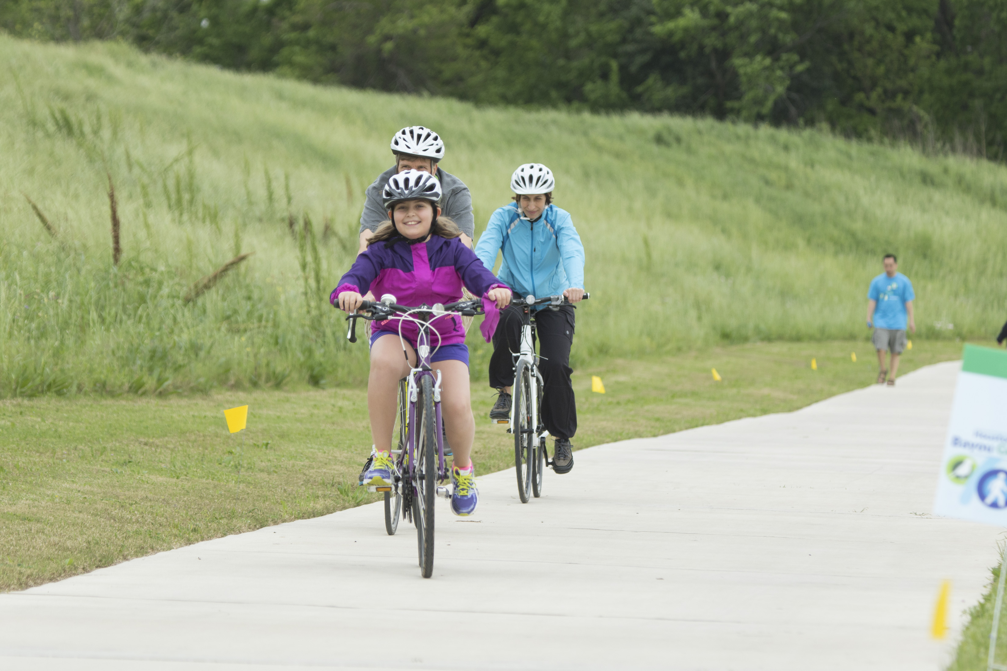 Brays Bayou Greenway Trail | Photo by F. Carter Smith, courtesy Houston Parks Board