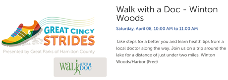 Walk with a Doc - Winton Woods