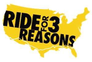 Ride for 3 Reasons