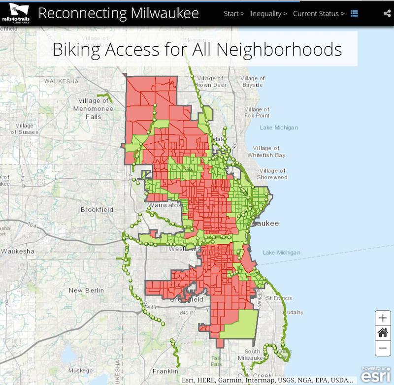 Reconnecting Milwaukee Story Map