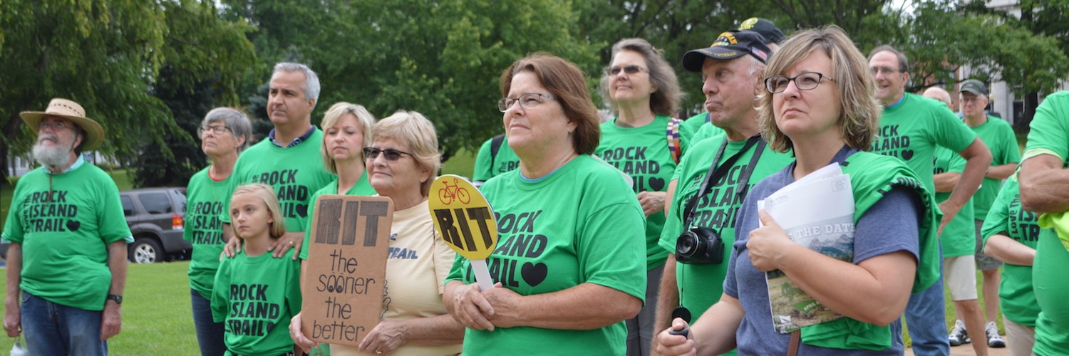 Rallying for Missouri's Rock Island Trail
