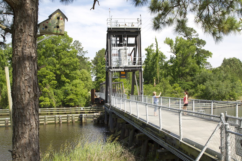 A bridge over the bayou on the Tammany Trace | Courtesy LouisianaNorthshore.com