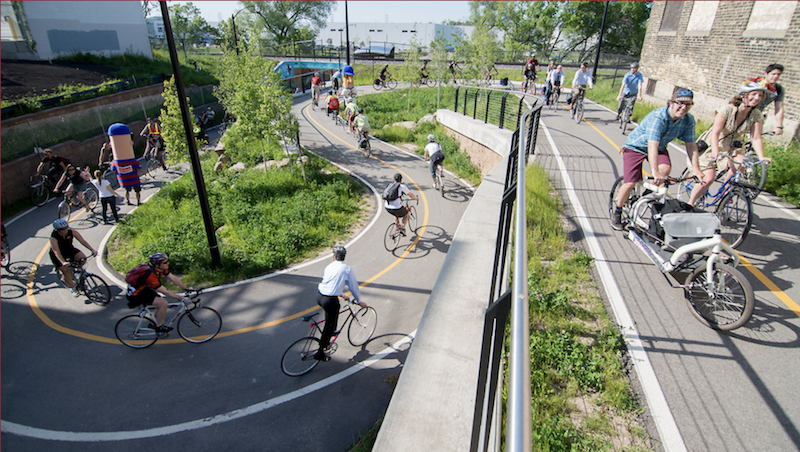 Hank Aaron State Trail| Photo by David Schlabowske, courtesy Wisconsin Bike Fed