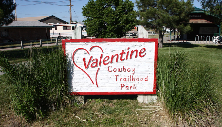 Valentine trailhead on the Cowboy Trail | Photo by Alex Duryea, courtesy of the Nebraska Tourism Commission