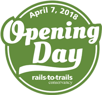 Opening Day for Trails Logo