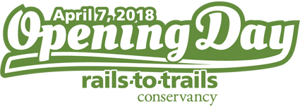Opening Day for Trails Horizontal Logo