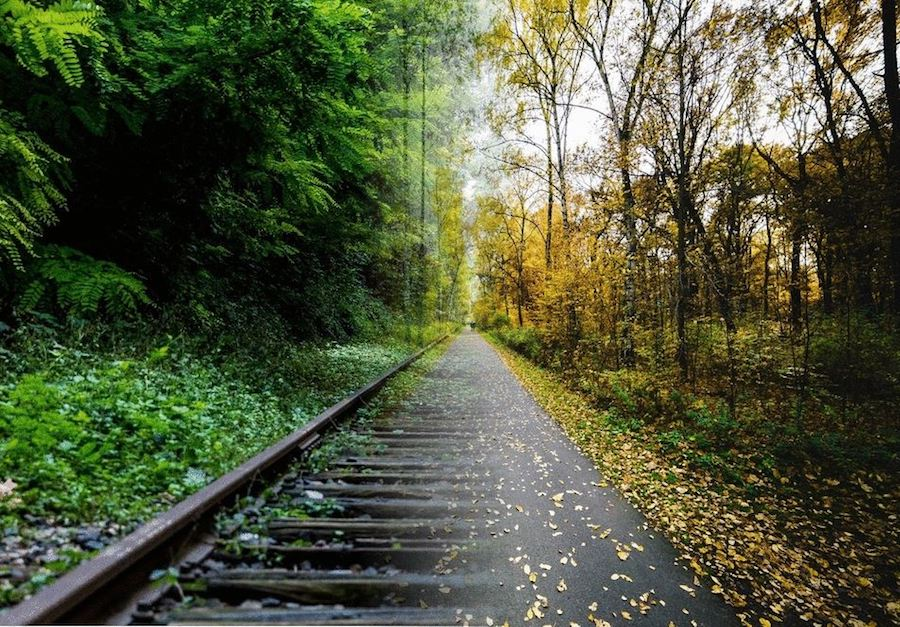 Rail to trail illustration | Courtesy Union Grove Rails to Trails