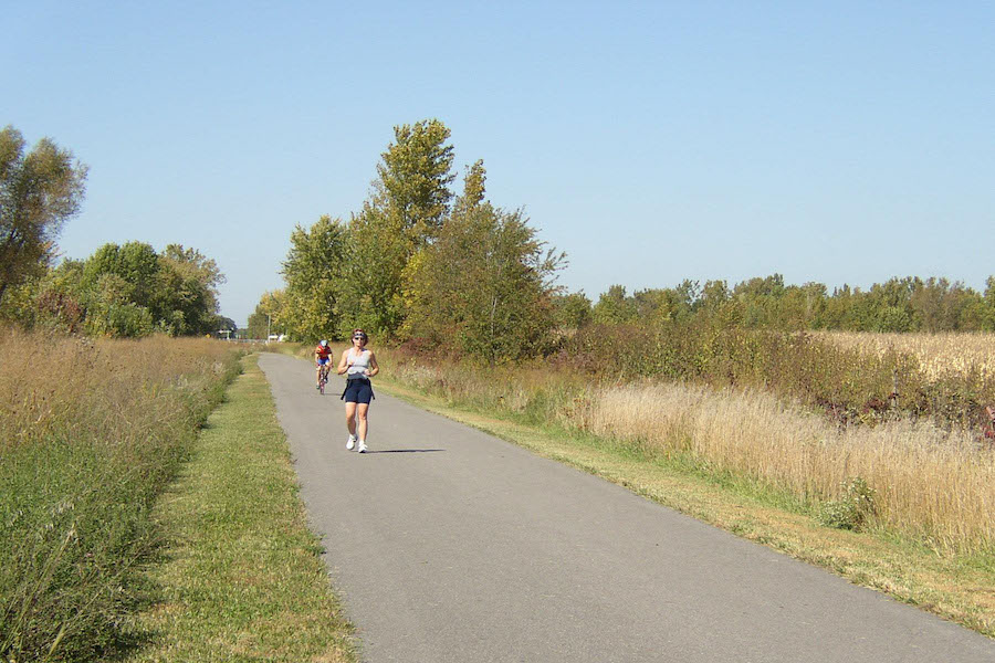 Erie Lackawanna Trail | Courtesy Lake County Parks and Rec