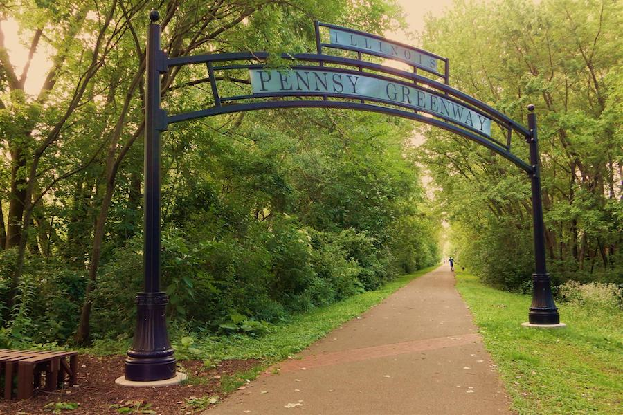 Pennsy Greenway in Lansing, IL | Photo by Traillink user tommyspan.jpg
