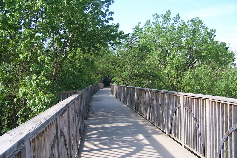 Cardinal Greenway, bridge in Richmond section | Photo by Eric Oberg, courtesy RTC