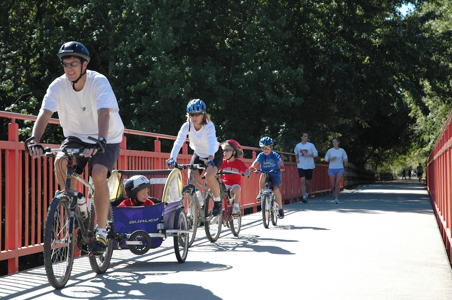 Monon Trail | Photo courtesy Indianapolis Department of Parks and Recreation