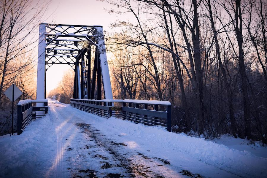 Pere Marquette Rail-Trail | Photo by Chris Collins