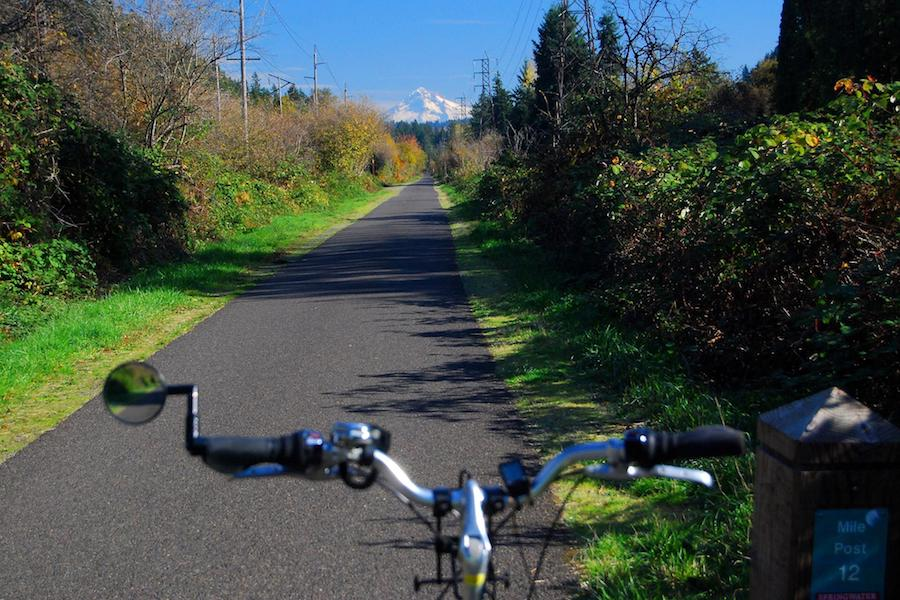 Springwater Corridor | Photo by TrailLink user dabiker