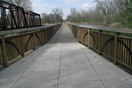 The Cardinal Greenway is a core segment of an even longer system, which has sights to link up with trails in Illinois and Ohio. | Photo courtesy Cardinal Greenways Inc