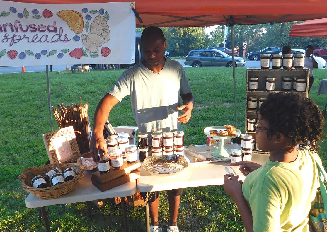 Druid Hill Farmers' Market | Photo by Courtney Upshur