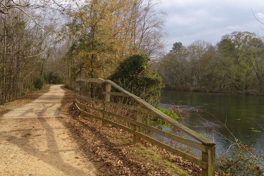 Augusta Canal Trail | Photo by TrailLink user raychillicious