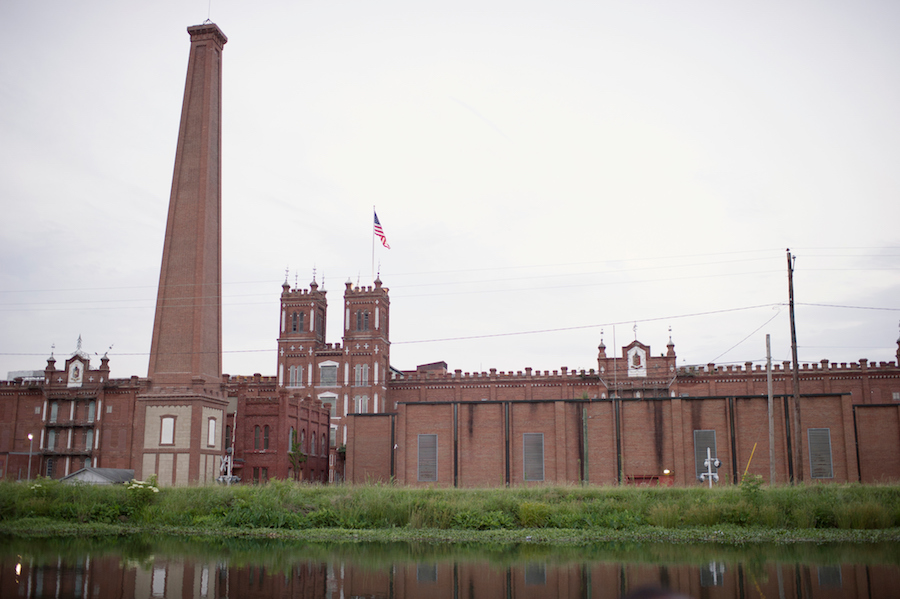 Sibley Mill and Confederate Powder Works Chimney | Photo courtesy Augusta Convention and Visitors Bureau