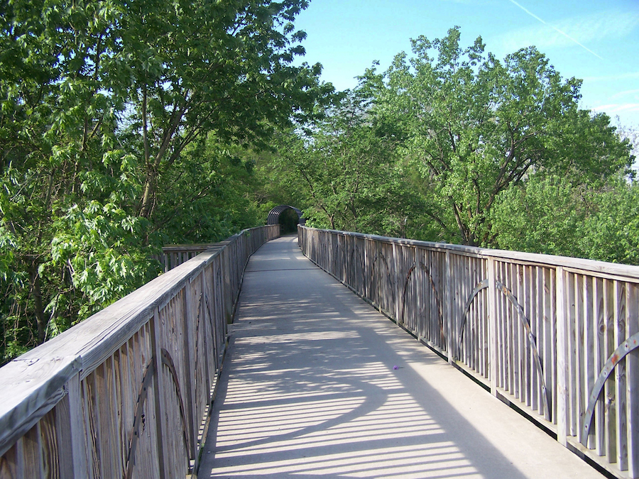 Bridge in the Richmond section of the Cardinal Greenway | Photo by Eric Oberg courtesy RTC
