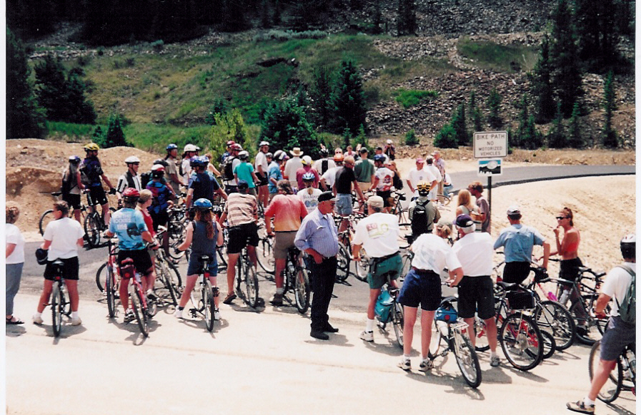 Opening Day for the Mineral Belt Trail in 2000 | Photo courtesy Mike Conlin