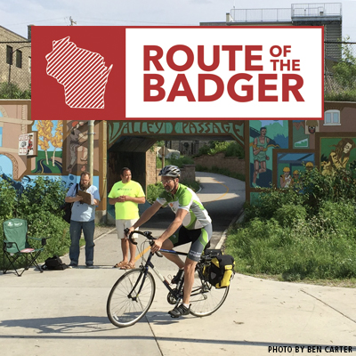 Route of the Badger TrailNation Project
