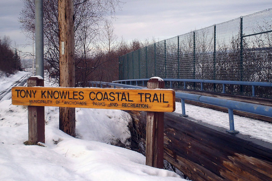 Tony Knowles Coastal Trail in Alaska | Photo courtesy James Brooks